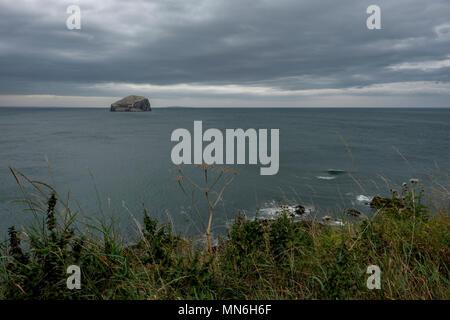 The Bass Rock, North Berwick, East Lothian, Scotland - Stock Photo