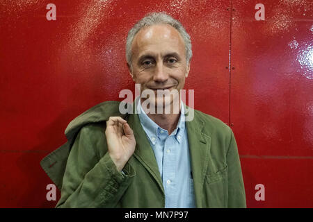 Turin, Italy. 13th May, 2018. Turin. Marco Travaglio at the Book Fair. in the picture: Marco Travaglio Credit: Independent Photo Agency/Alamy Live News - Stock Photo