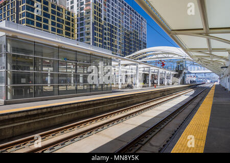 Union Station, Denver, Colorado, USA. - Stock Photo