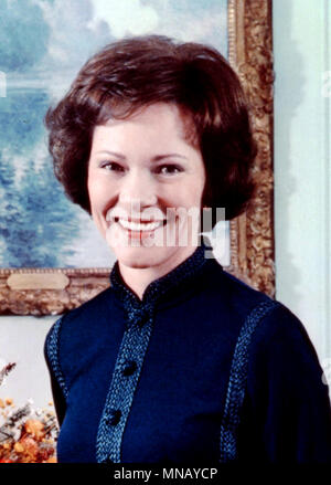 Rose Carter, Eleanor Rosalynn Carter, wife of the 39th President of the United States, Jimmy Carter, and served as the First Lady of the United States from 1977 to 1981 - Stock Photo