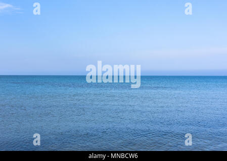 Views of the Mediterranean Sea from the coast of Denia (Alicante) Photo:Eduardo Manzana - Stock Photo