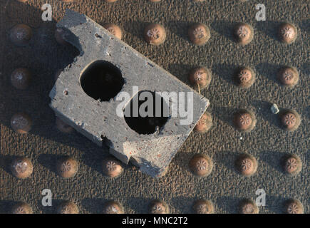 Just Another Brick on the Ground - Stock Photo