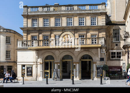 The Theatre Royal in Bath, England - Stock Photo