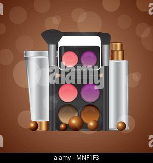 cosmetics makeup related - Stock Photo