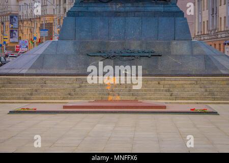 Victory Square Symbol Belarusian Capital Minsk Belarus Stock