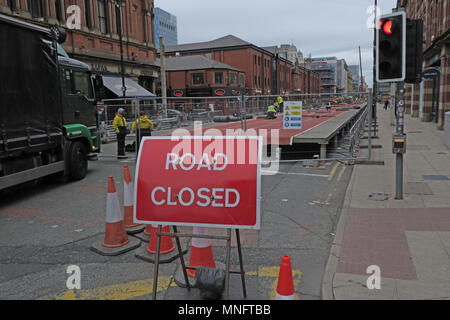 Set up for the great CityGames Manchester, May 2018, Lancashire, England, UK - Stock Photo