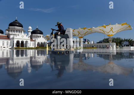 Baiturrahman Grand Mosque - Stock Photo