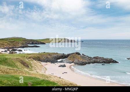 Durness Beach, on the North Coast 500 Mile route in Scotland, UK - Stock Photo