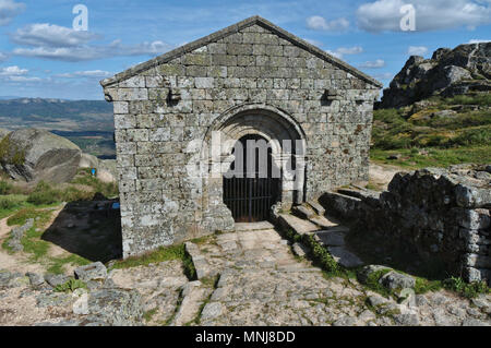 Sao Miguel Chapel in Monsanto. Castelo Branco, Portugal - Stock Photo