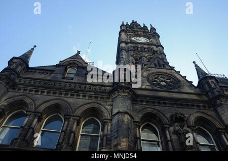 Middlesbrough Town Hall (built 1889, architect George Gordon Hoskins), Corporation Road, Middlesbrough, England, UK, May 2018 - Stock Photo