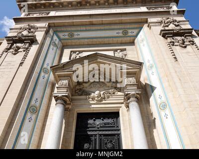 Entrance of the Fine Arts Museum, Musée des Beaux-Arts de Nîmes, France - Stock Photo