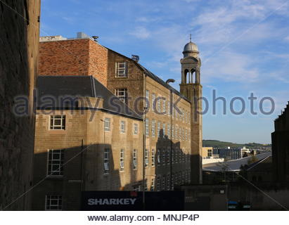 Former Baxter Brothers Mills being refurbished into Hotel Indigo Dundee Scotland  May 2018 - Stock Photo