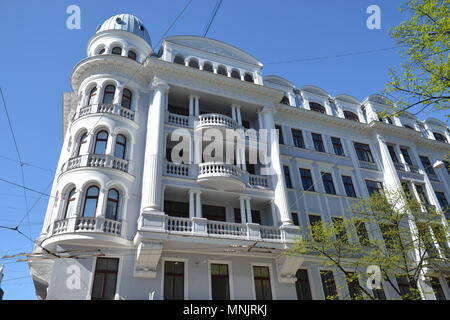 KGB building in Riga, Latvia - Stock Photo