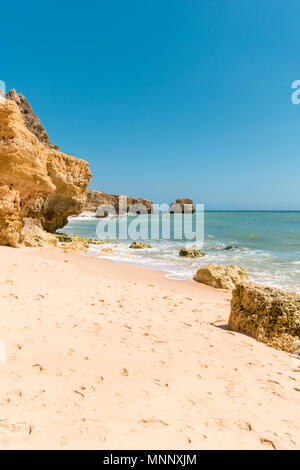 Beautiful sandy beaches and turquoise ocean. - Stock Photo