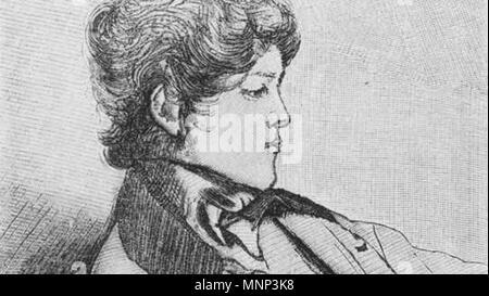 . Deutsch: Otto von Bismarck um 1834. 1834. Unknown 950 Otto-von-bismarck-um1834 - Stock Photo
