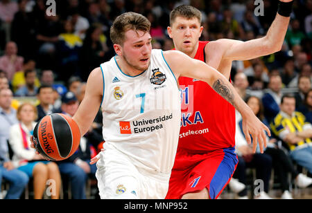 af8d838d0 Real Madrid s Luka Doncic during the Euroleague 12nd round match ...