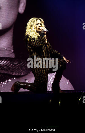 London, UK, 18 May 2018. Rita Ora performing 02 Academy Brixton, London - 18 May 2018 Credit: Tom Rose/Alamy Live News - Stock Photo