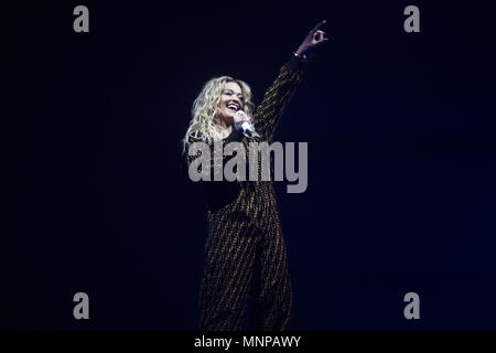 London, UK, 18 May 2018. Rita Ora performing 02 Academy Brixton, London - 18 May 2018 Credit: Tom Rose/Alamy Live News - Stock Photo