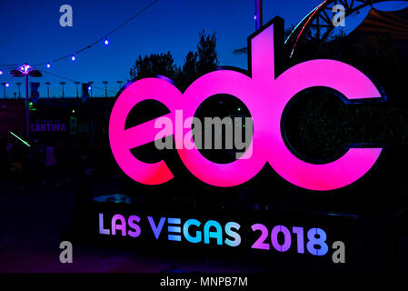 Las Vegas, Nevada,  USA. May 18, 2018, , Electric Daisy Carnival, edc festival, Day 1, Credit: Ken Howard Images/Alamy Live News - Stock Photo