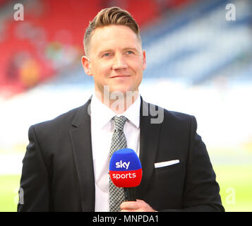 Hampden Park, Glasgow, UK. 19th May, 2018. Scottish Cup football final, Celtic versus Motherwell; Kris Commons Credit: Action Plus Sports/Alamy Live News - Stock Photo