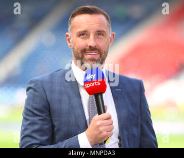 Hampden Park, Glasgow, UK. 19th May, 2018. Scottish Cup football final, Celtic versus Motherwell; Kris Boyd Credit: Action Plus Sports/Alamy Live News - Stock Photo