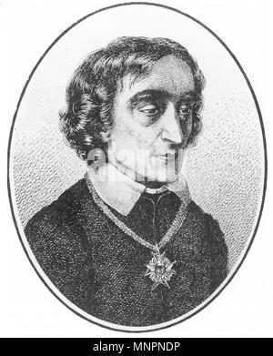 ZACHARIAS WERNER (1768-1823) German poet and playwright. - Stock Photo