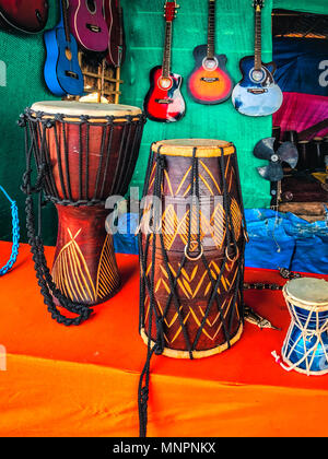 display of musical instruments in a shop in cuba street central stock photo 17477960 alamy. Black Bedroom Furniture Sets. Home Design Ideas