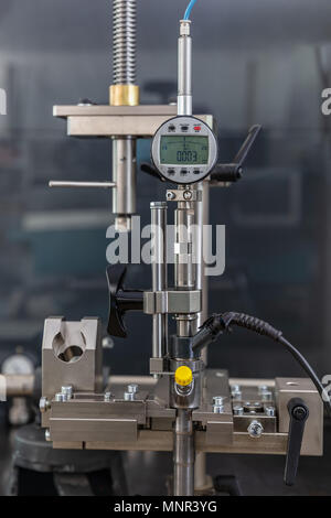 testing nozzles for diesel engines, close up - Stock Photo