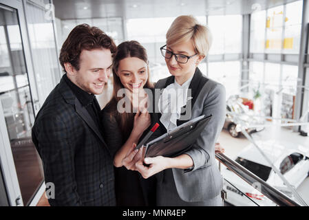 Group of young business people working together in big coworking office. Marketing department discussing product plan. New startup company - Stock Photo