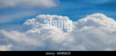 Clouds formation, cloudscape. Blue sky with clouds. - Stock Photo