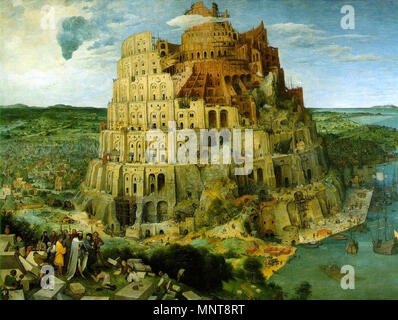 The Tower Of Babel Bruegel Painted Three Versions Of The Tower Of Babel One Is Kept In The Museum Boijmans Van Beuningen In Rotterdam See Category The Tower Of Babel Rotterdam The