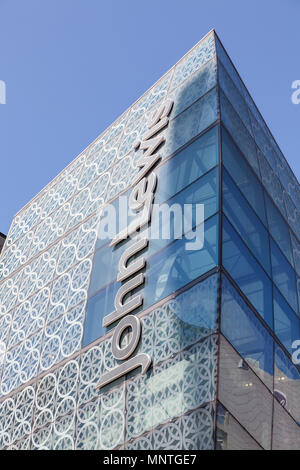 John Lewis department store at Westfield shopping centre in Stratford, London - Stock Photo
