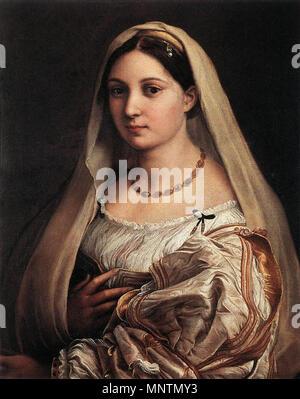.   1038 Raffaello Sanzio - Woman with a Veil (La Donna Velata) - WGA18824 - Stock Photo