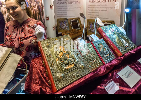 Warsaw, Poland. 19th May 2018. The four-day 9th International Warsaw Book Fair take place in the Polish capital city. The book fair in Warsaw is one of the oldest fairs in Europe. Credit: dario photography/Alamy Live News - Stock Photo