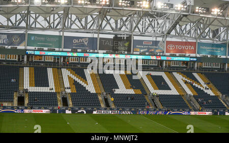 Chester, Pennsylvania, USA. 19th May, 2018. Talen Energy Stadium, home of the Philadelphia Union, in Chester Pa Credit: Ricky Fitchett/ZUMA Wire/Alamy Live News - Stock Photo