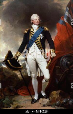 by Sir Martin Archer Shee,painting,circa 1800   Portrait of King William IV (1765-1837)   circa 1800.   865 Martin Archer Shee - King William IV - c.1800 - Stock Photo