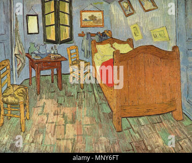 English: Vincent\'s Bedroom in Arles Français : La chambre de Van ...