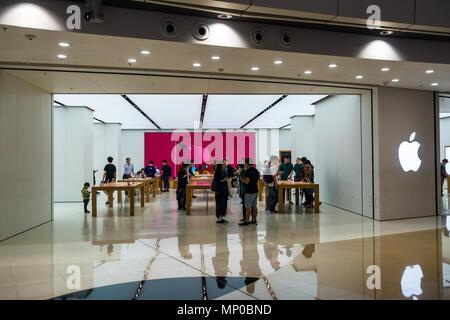 Apple Store in Hong Kong SAR, China - Stock Photo