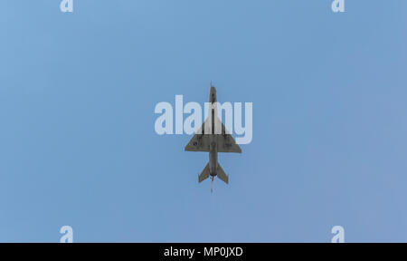 MIG-21 in Air VG show - Stock Photo