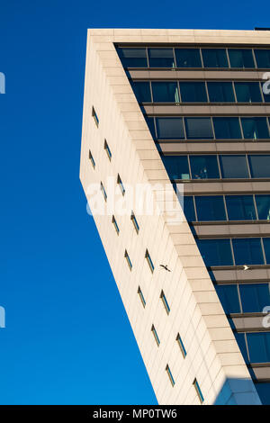 Office building shown in an abstract way, Kiel, Germany, Europe - Stock Photo