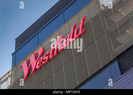 Westfield shopping centre at Stratford, London - Stock Photo