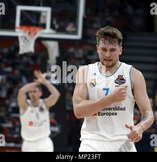 12cc7a982 Real Madrid s Luka Doncic during the Liga ACB match between Monobus ...
