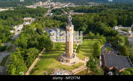 The Vulcan Statue, Vulcan Park, Birmingham, Alabama, USA - Stock Photo