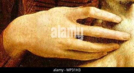 Deutsch: Dame mit dem Hermelin (Porträt der Cecilia Gallerani).[1][2] English: Lady with an Ermine (Portrait of Cecilia Gallerani).[1][2] Español: La dama del armiño (Retrato de Cecilia Gallerani).[1][2] Français: La dame à l'hermine (Portrait de Cecilia Gallerani).[1][2] Polski: Dama z gronostajem (Portret Cecylii Gallerani).[1][2]   circa 1490[2] Alternate: 1483-1490.   789 Lady with an Ermine hand - Stock Photo