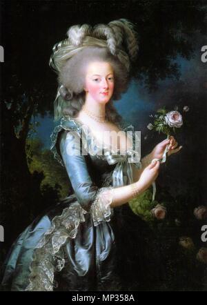 . Marie Antoinette Italiano: Maria Antonietta con vestito ...