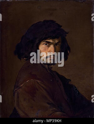 . English: Salvator Rosa (Arenella, Naples 1615-1673 Rome) Portrait of the artist, in a brown doublet oil on canvas, unlined 75.6 x 60 cm.  . 17th century.   Salvator Rosa  (1615–1673)       Alternative names Salvatore Rosa  Description Italian painter, draughtsman and etcher  Date of birth/death 20 June 1615 15 March 1673  Location of birth/death Naples Rome  Work location Rome (1635-1636), Viterbo (1636), Naples (ca. 1636-1639), Rome (1639-1640), Florence (1640-1649), Rome (1649-1672)  Authority control  : Q359421 VIAF: 46830369 ISNI: 0000 0001 2279 5017 ULAN: 500011328 LCCN: n50048421 NLA:  - Stock Photo