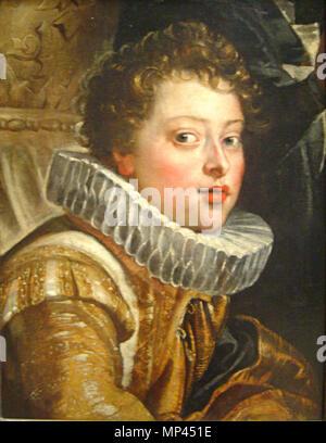 Deutsch: Vincenzo II. Gonzaga (1594-1627)    Deutsch: um 1604/1605 .   977 Peter Paul Rubens 123b - Stock Photo