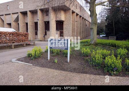 Stephen Hawking Building, Gonville and Caius Collage, Cambridge University United Kingdom - Stock Photo