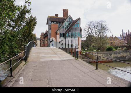 Jerwood Library at Trinity Hall, College, Cambridge, England, UK - Stock Photo