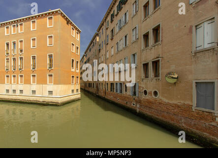 A residential area in the south of venice - Stock Photo